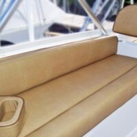 Flybridge Bench with C-Caddy and Comfort Rolls-Image #1215