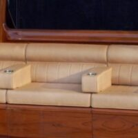 Roll and Pleat Mezzanine with Armrests, Lumbar Backrest with Roll Image # 1127